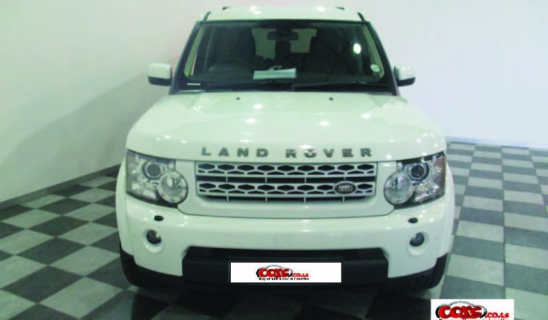 Local Land Rover Discovery 2017 full