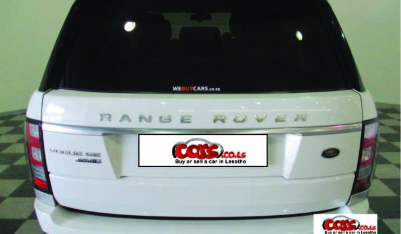 Import Land Rover Range Rover 2013 full
