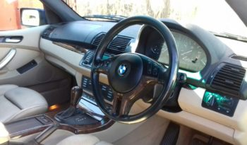Import BMW X5 2002 full