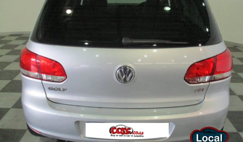 Local Volkswagen Golf 6 2011 full