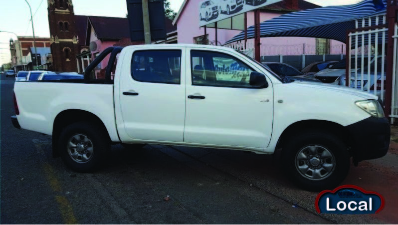 Local Toyota Hilux 2011 full
