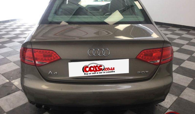 Local Audi A4 2011 full